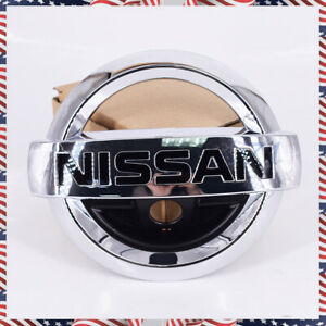 Fits Nissan Murano 15 20 Front Grille Camera Emblem Rogue 14 17 Grill Hood Badge