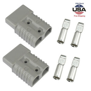 175a Battery Quick Connect Disconnect Plug Winch Terminal Connector 600v 2awg Us