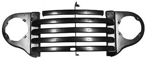 1948 1949 1950 Ford Pickup Truck Steel Grill Assembly W trim Mounting Holes