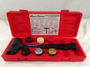 Blue Point By Snap on Dead Blow Hammer 7 Pcs Set Interchangeable Striking Faces