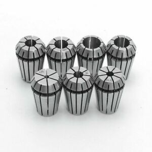 Er16 Spring Collet Set For Cnc Milling Lathe Tool Engraving Machine New