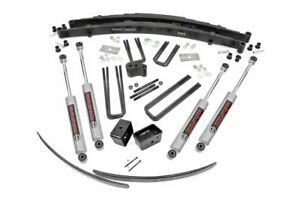 Rough Country 4 Lift Kit fits 1975 1977 Dodge Ram Ramcharger Trailduster 4wd