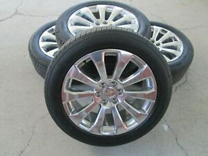 22 Chevy Gmc 1500 High Country Oem Factory Wheels Rims Tires 2021