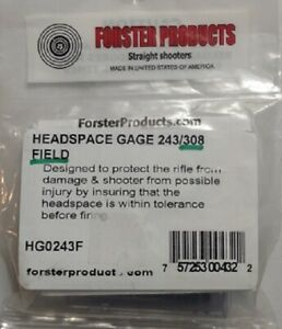 Forster 308 Winchester FIELD Headspace Gauge NEW also does 243 Win amp; 7MM 08 $29.95