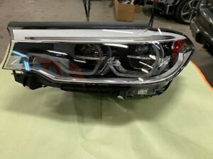 Bmw M5 Series 2017 18 19 Led Adaptive Left Headlight Headlamp Complete Oem