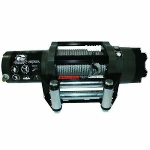 Bulldog Winch 15022 6000lb Powersports Winch With Wire Rope Roller Fairlead New