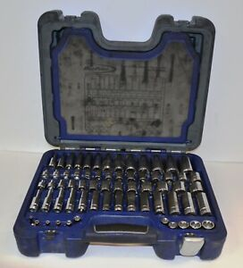 Blue Point Blpgss3885 85 Pc 3 8 Drive Sae metric General Service Socket Set
