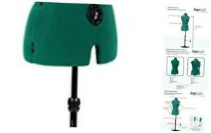 Sew You Adjustable Dress Form Opal Green Small