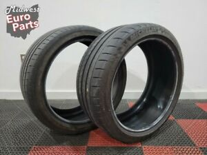 2 Michelin Pilot Super Sport Pss 255 35r19 Summer Tires Weathering Used 7 5 32