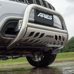 Aries 35 9004 3 Polished Stainless Bull Bar For Select Nissan Nv Titan Xd