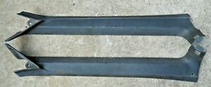 Set Of 1969 1970 Ford Mustang Mercury Cougar Black A Pillar Inner Trim Molding