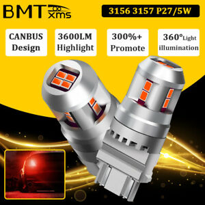 Red 3157 3156 3057 Led Brake Tail Stop Light Bulbs For Nissan Altima 2000 2015