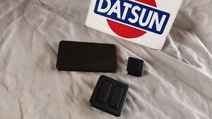 Datsun 74 78 260z 280z Coupe Oem Center Console Plugs 3x Used Free Ship