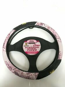 King s Camo Pink Shadow Universal Steering Wheel Cover