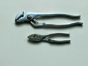 Craftsman Vintage 2 Pc 10 Tongue Groove Pliers Slip joint Pliers Usa Made