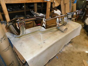 1969 Cadillac Re chromed Front Bumper