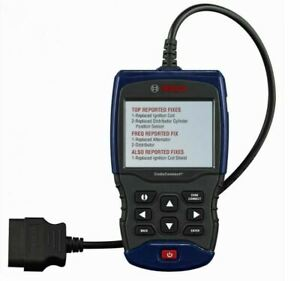 Bosch 1200 Enhanced Auto Scanner Obd Ii Can Abs Airbag Srs Live Data Scan Tool