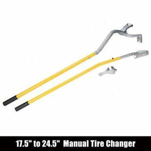 Practical Tire Changer Mount Demount Tools Set Tubeless Truck Bead 17 5 To 24
