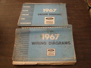 Oem Ford 1967 Wiring Diagram Book Galaxie Fairlane Mustang Falcon Truck Lincoln