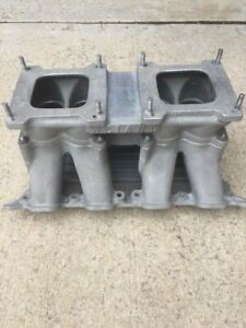 Cleveland 351 Weiand Aluminum Tunnel Ram Intake Manifold Vintage Dual Quad