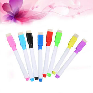 24pcs Marker Pens Erasable Practical Whiteboard Marker For Classroom Home