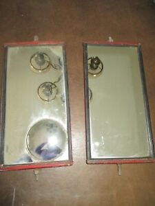 Vintage Pair Of Truck Side Mirrors West Coast 12 Inch