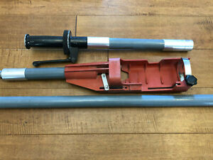 Hilti X pt 351 Holder Grip Handle And Extension Pole Nice For Dx 351