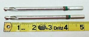 Lot Of Two Biomet 32 467619 338930 1 4 6 4 Surgical Medical Drill Bit