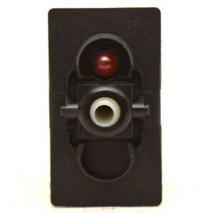 Carling Boat Momentary Rocker On Off Switch Base 20a 12v Red