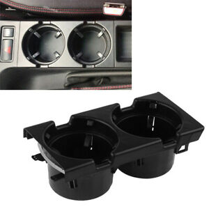 Black Cup Holder For Bmw E46 3 Series Sedan wagon compact coupe m3 1997 2006