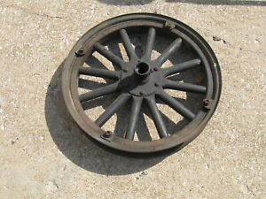 Model T Ford 21 Front Wooden Spoked Wheel With Rim Made By Firestone Nice