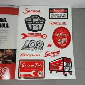 Snap On Tools Decals 12 Pack Stickers 100th Anniversary 2020
