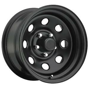 Pro Comp Wheels Series 97 17x9 With 8 On 6 5 Bolt Pattern Gloss Black 97 7981