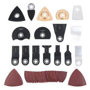 66 Pc Sanding Kit Oscillating Multi Tool Sand Pad For Fein Multimaster Saw Fit
