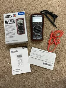 Matco Tools Md251 Basic Multimeter Very Nice