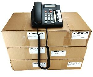 Box Of 6 T7208 Norstar Business Telephone Nortel Norstar 6 Lines New In Boxes
