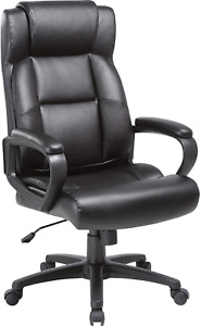 Lorell Soho High back Leather Executive Chair Black