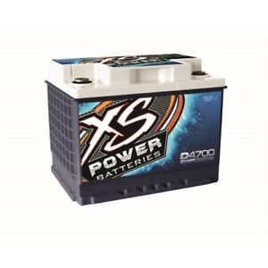 Xs Power D4700 Battery Agm Deep Cycle Starting 12v 760 Cranking Amps 32 Degree F