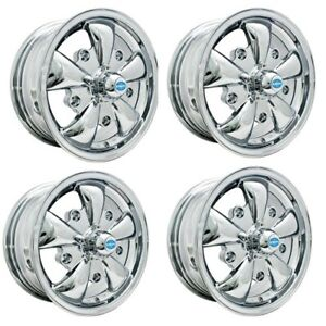 Gt 5 Wheels All Chrome 5 5 Wide 5 On 205mm Dunebuggy Vw