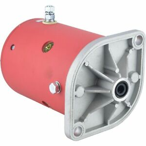 New Western Snow Plow Motor Lift Pump Mkw4009 1981 up Double Ball Bearing Design