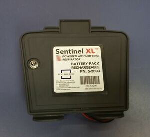 Sentinel Xl Papr Powered Air Purifying Respirator 8 hour Nimh Battery S 2003