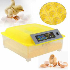 56 Digital Chicken Egg Incubator Hatcher Temperature Control Automatic Turning