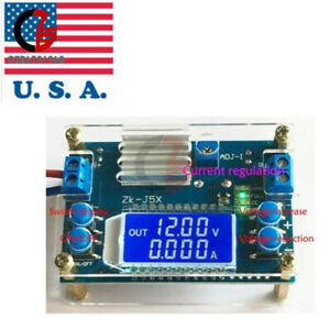 Dc dc 5a Buck Step down Lcd Constant Voltage Current Power Supply Module Case