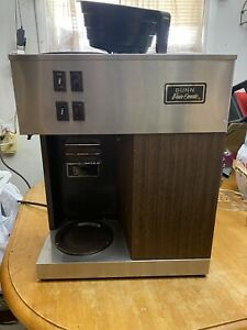 Vintage Bunn Pour omatic Commercial Coffee Maker Pour Over Brewer Warmer Tested