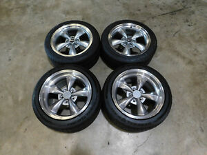 1994 2004 Ford Mustang Staggered Bullitt 17 Wheels Tires Usedtake Offs P82
