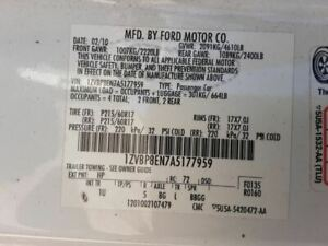 2008 2014 Ford Mustang Convertible Top Motor From 8 20 07 3211546