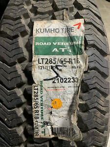 2 New Lt 285 65 18 Lre 10 Ply Kumho Road Venture At Tires