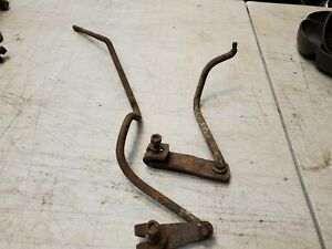 1955 1956 1957 Chevy 3 Speed Transmission Rods Shift Arms