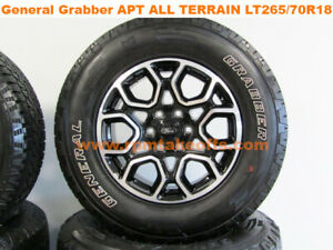 21 Ford F 150 Appearance Package 18 New Takeoff Wheels And Tires Set Of 4