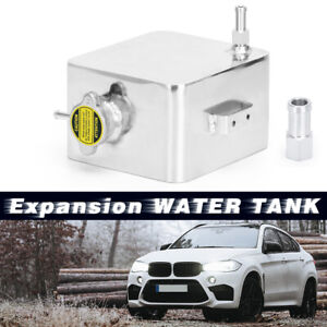 2l Aluminum Coolant Radiator Overflow Recovery Water Tank With Bottle Universal